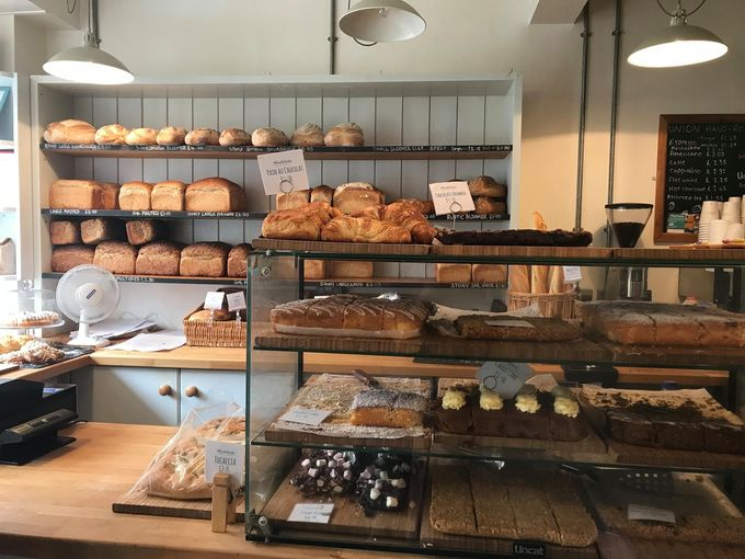 Woodstocks Bakery breads and sweets